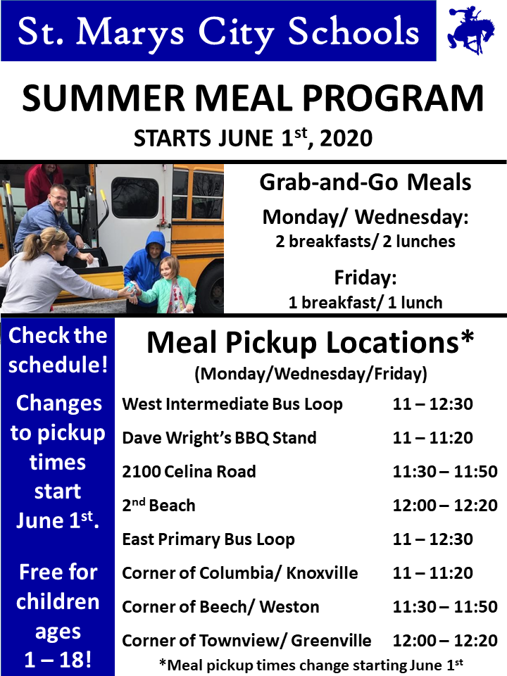 summer lunch program details