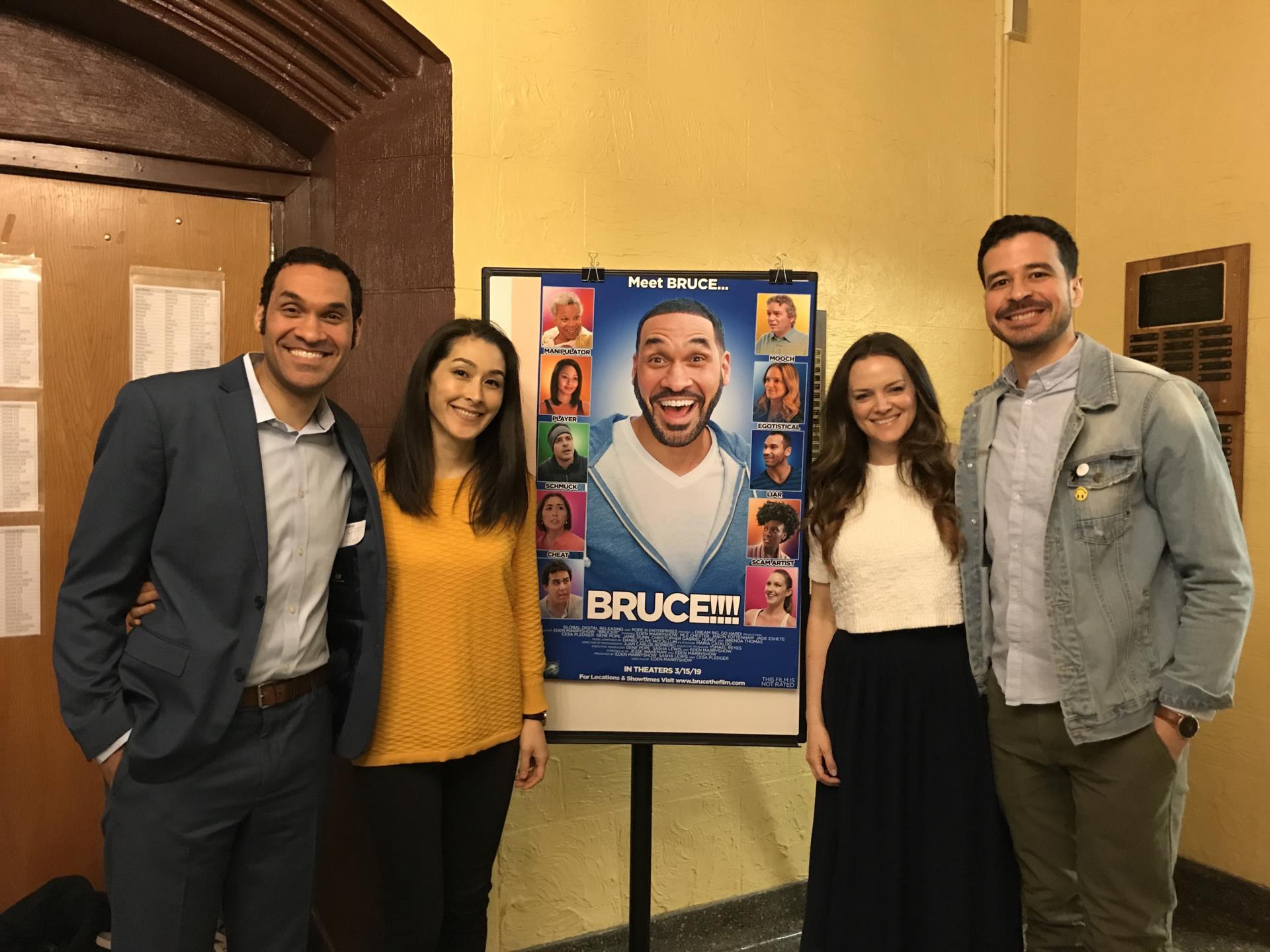 Cast of Bruce