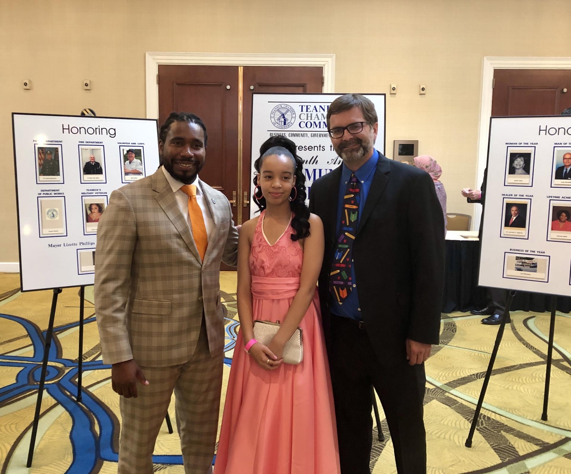 2019 Teaneck Chamber of Commerce Community Service Awards