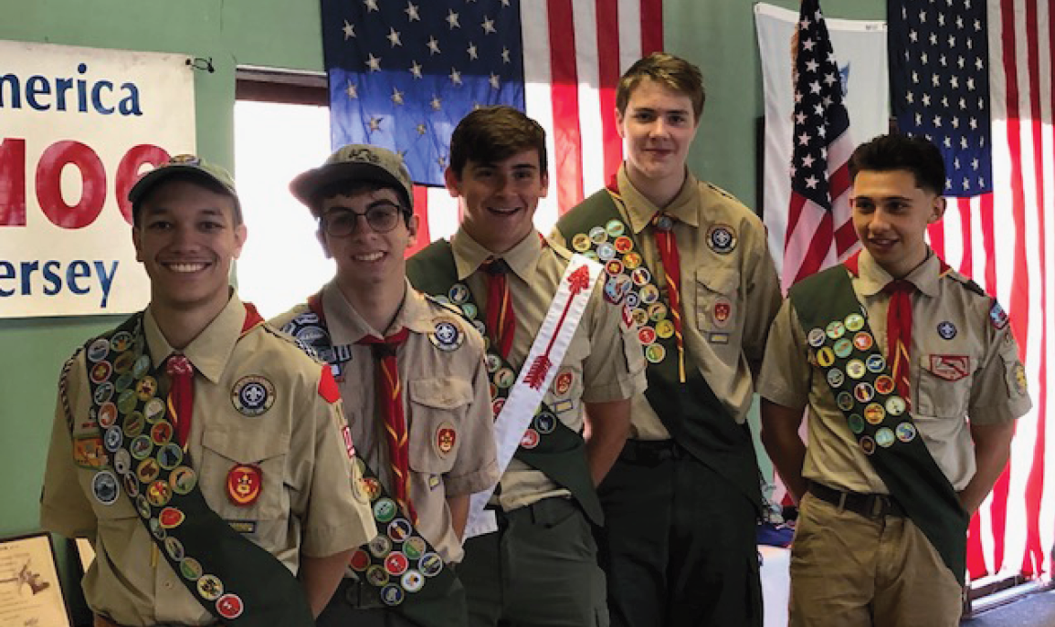 THS Students Earn Eagle Scout Rank