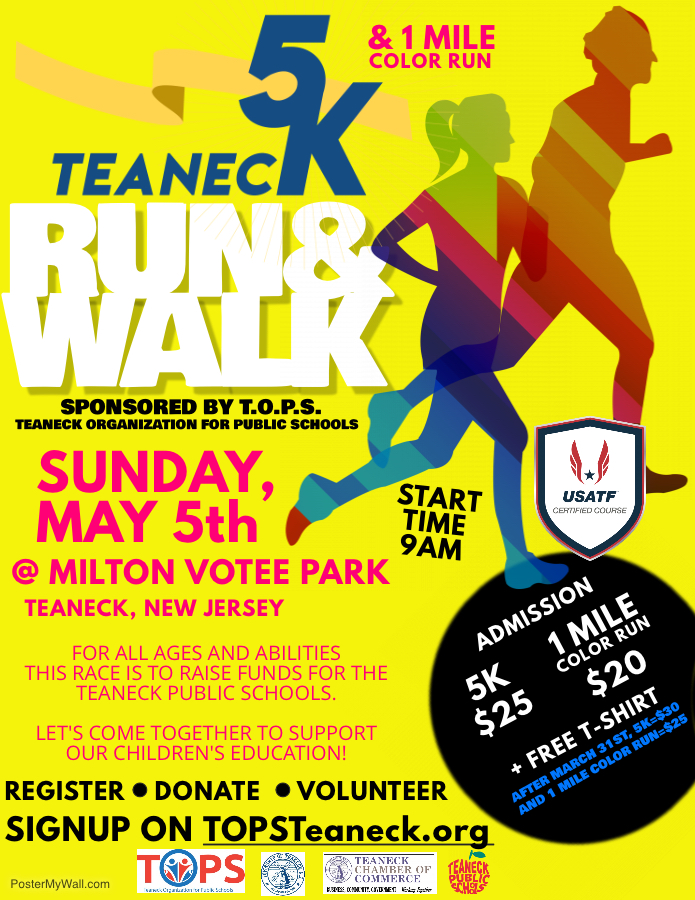 Teaneck 5K Run