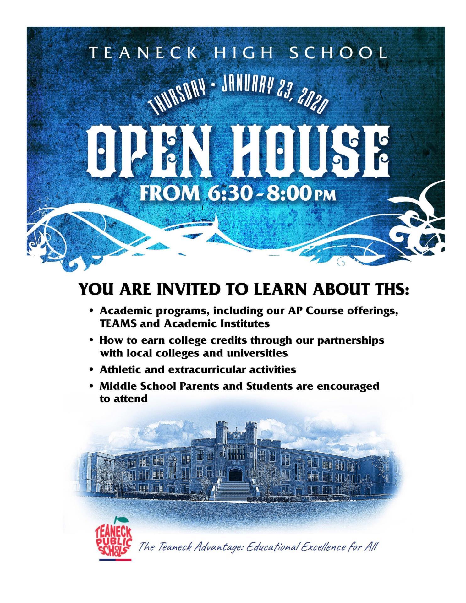 ths open house