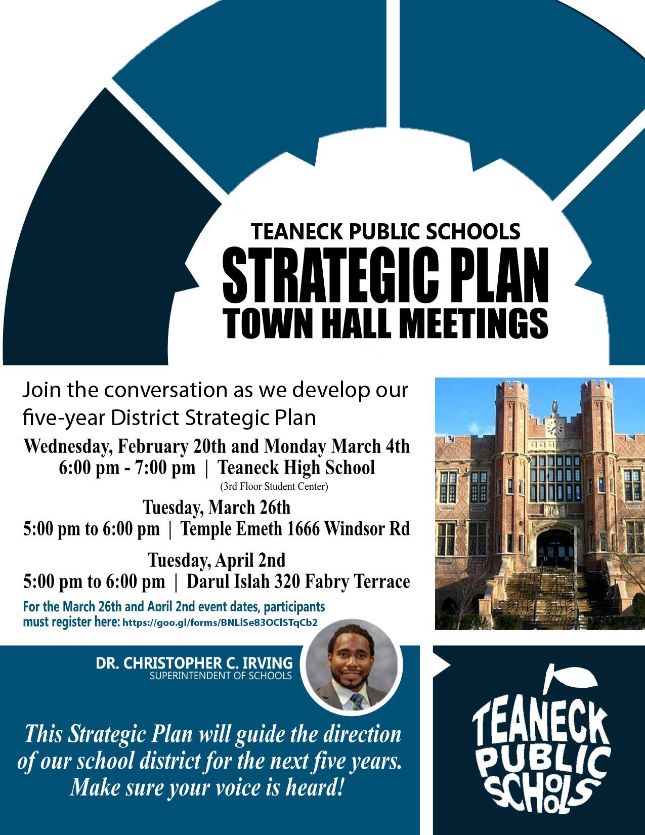 Strategic Plan Town Hall Meetings
