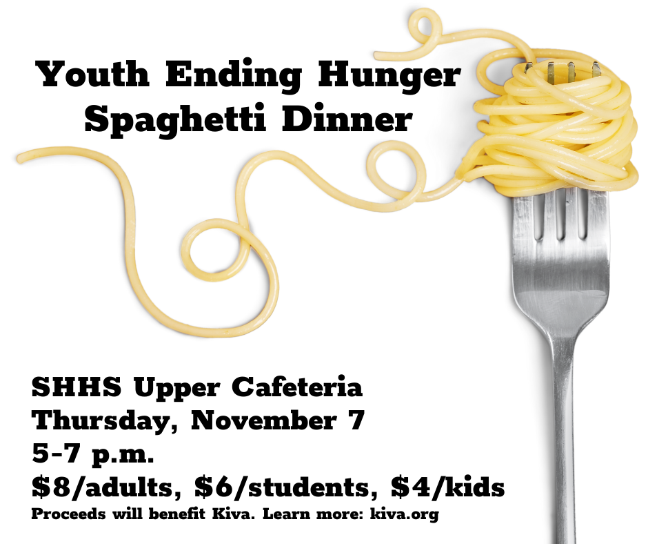 YEH spaghetti dinner