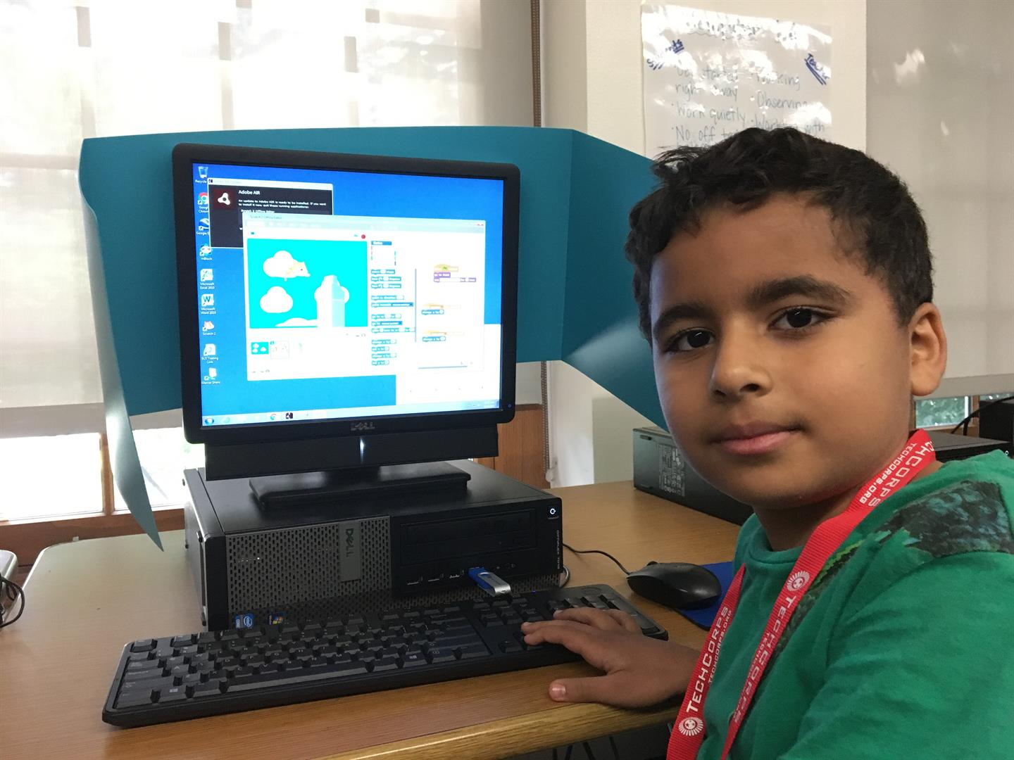 Student at Techie Camp