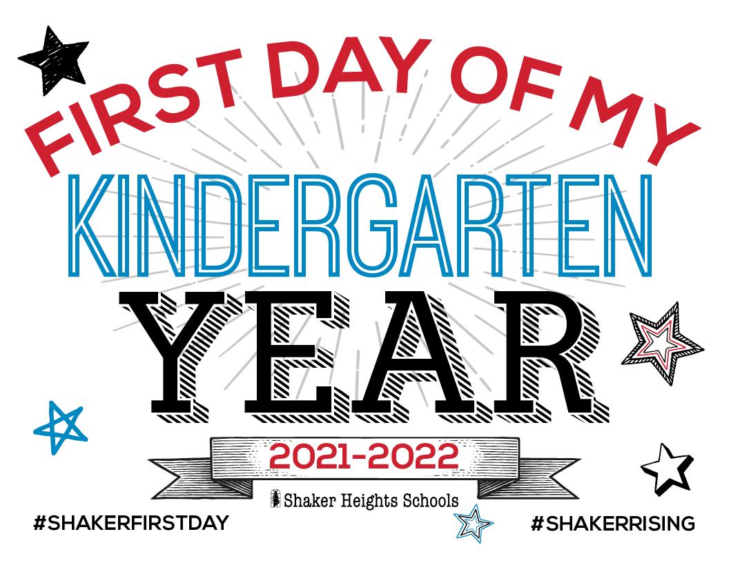 Kindergarten Back-to-School sign