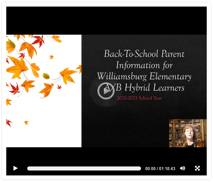 Back to School Presentation Video Thumbnail Image