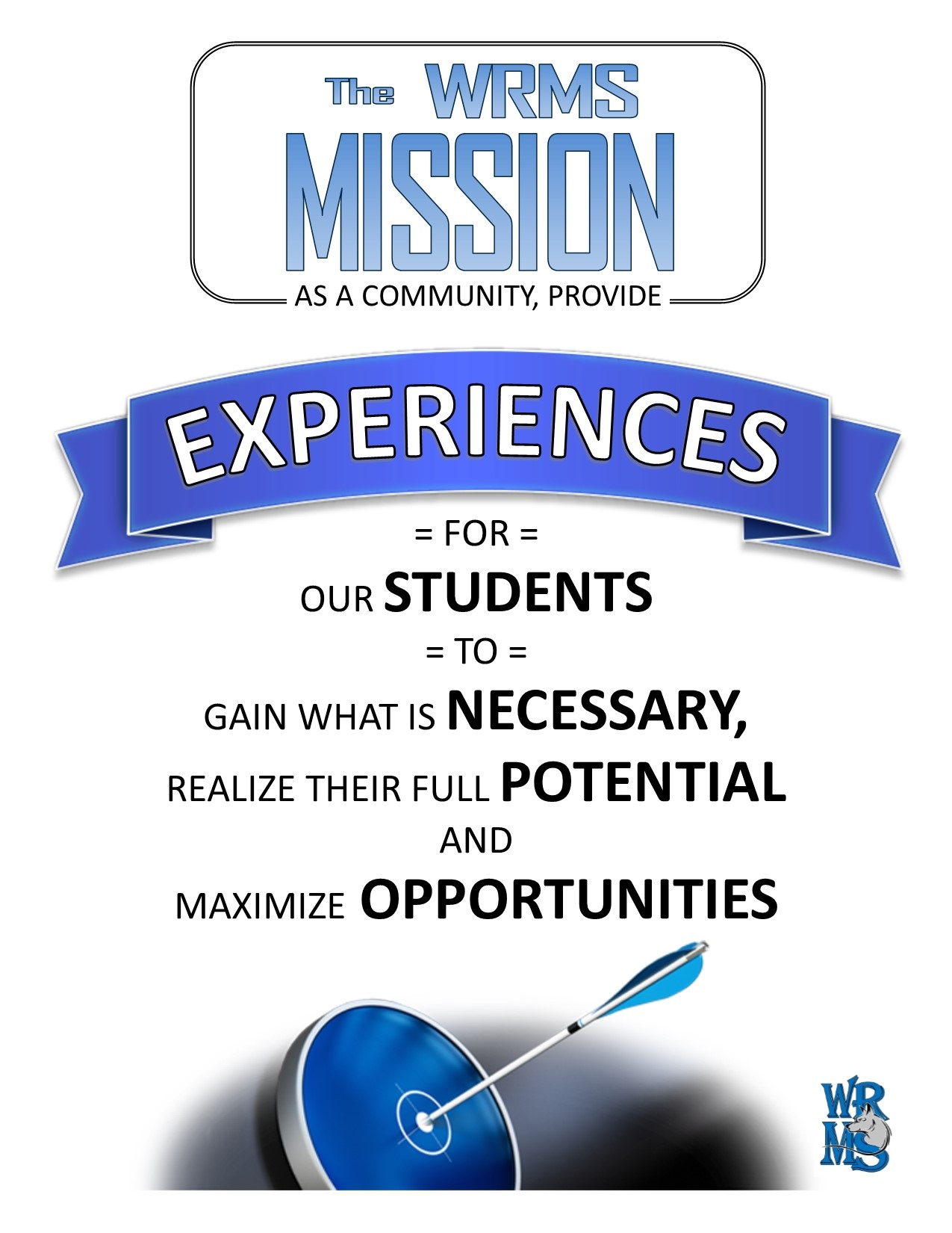 The WRSD is dedicated to providing all students with the knowledge, skills, tools, and opportunities that enable them to develop their full potential and be successful in meeting their career goals. This is supported by the active engagement of students, parents, teachers, and community members in our students' learning.