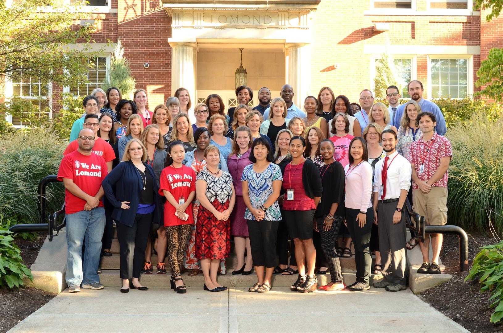 Lomond faculty and staff