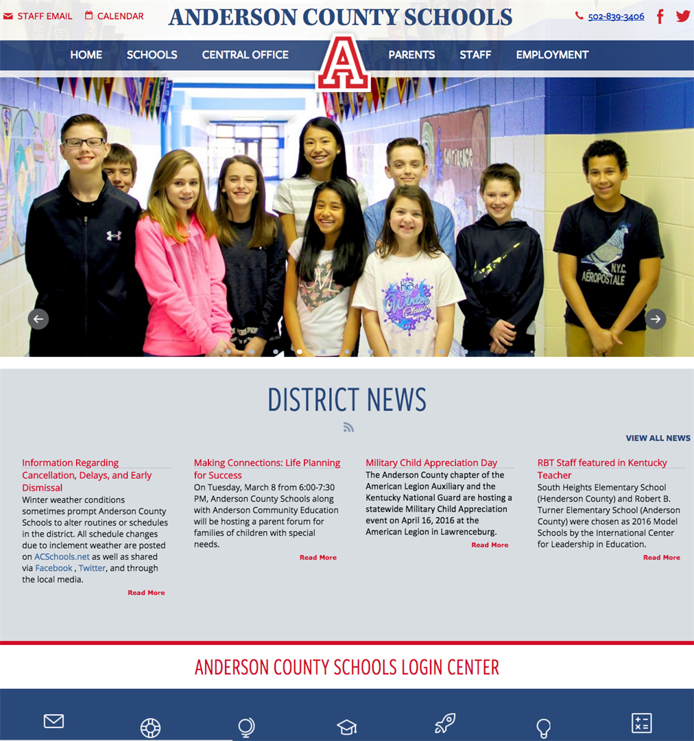 Anderson County Schools by eSchoolView