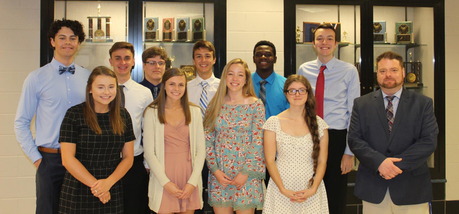 Class of 2019 Top Ten Students