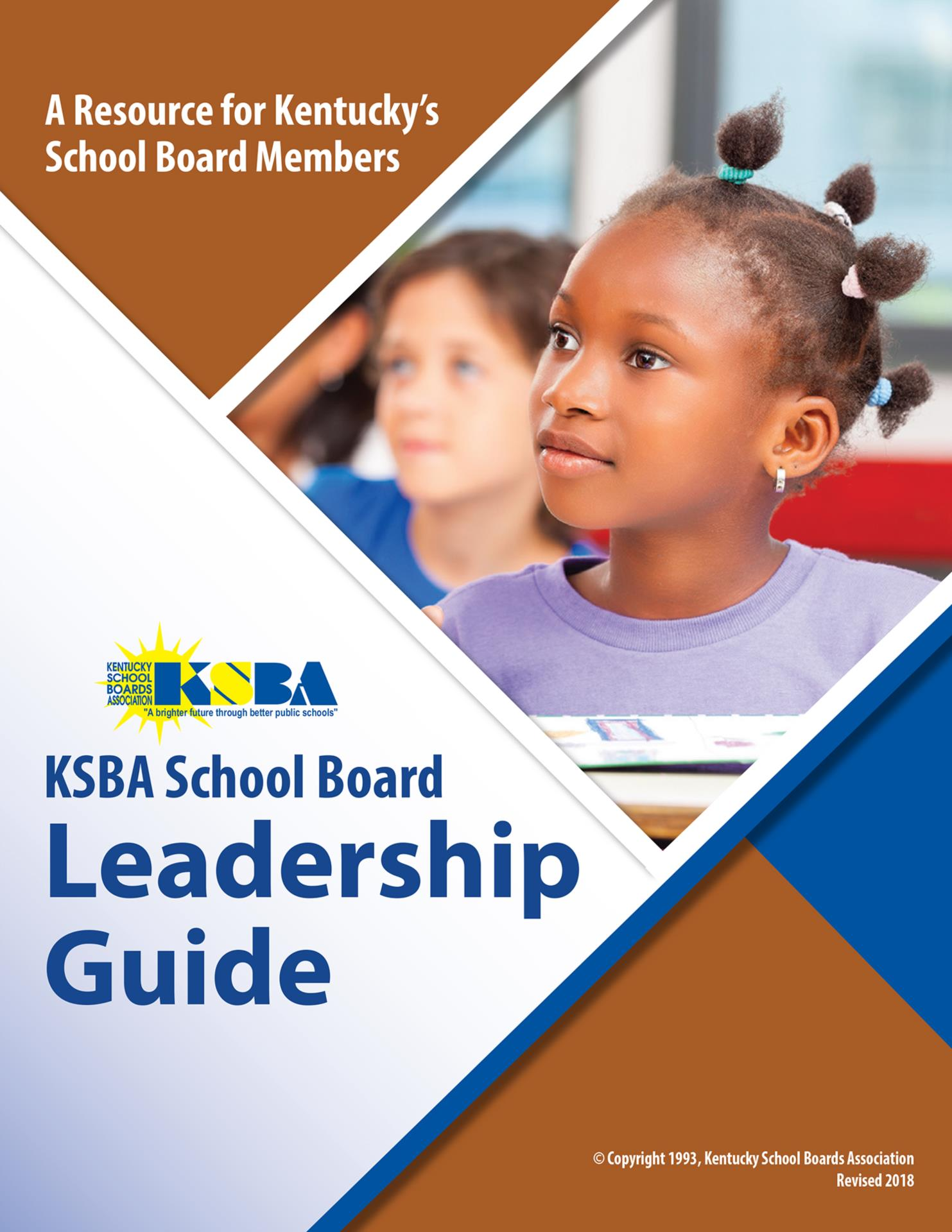 KSBA School Board Leadership Guide