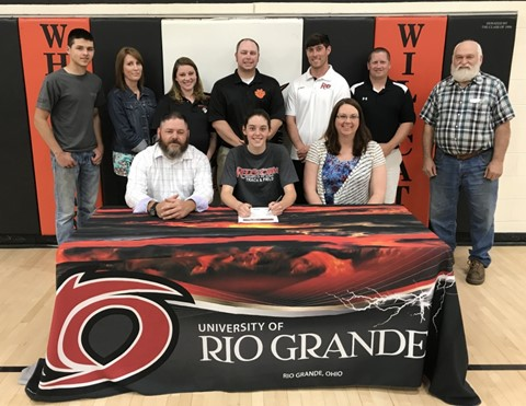 Tackett signs letter of intent to join the University of Rio Grande Track & Field team