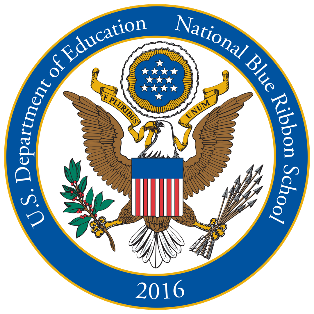Logo for National Blue Ribbon School 2016