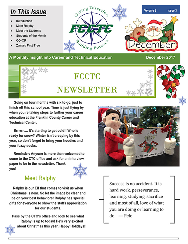 December Newsletter Image