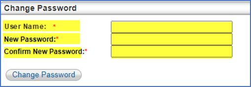 Create User Name/Password Window