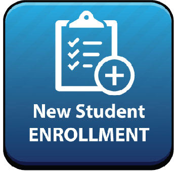 New Student Enrollment Button