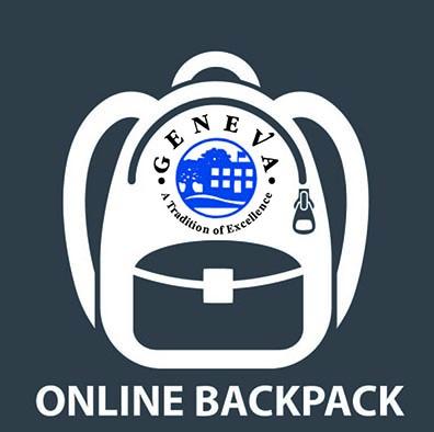 Online Backpack Logo
