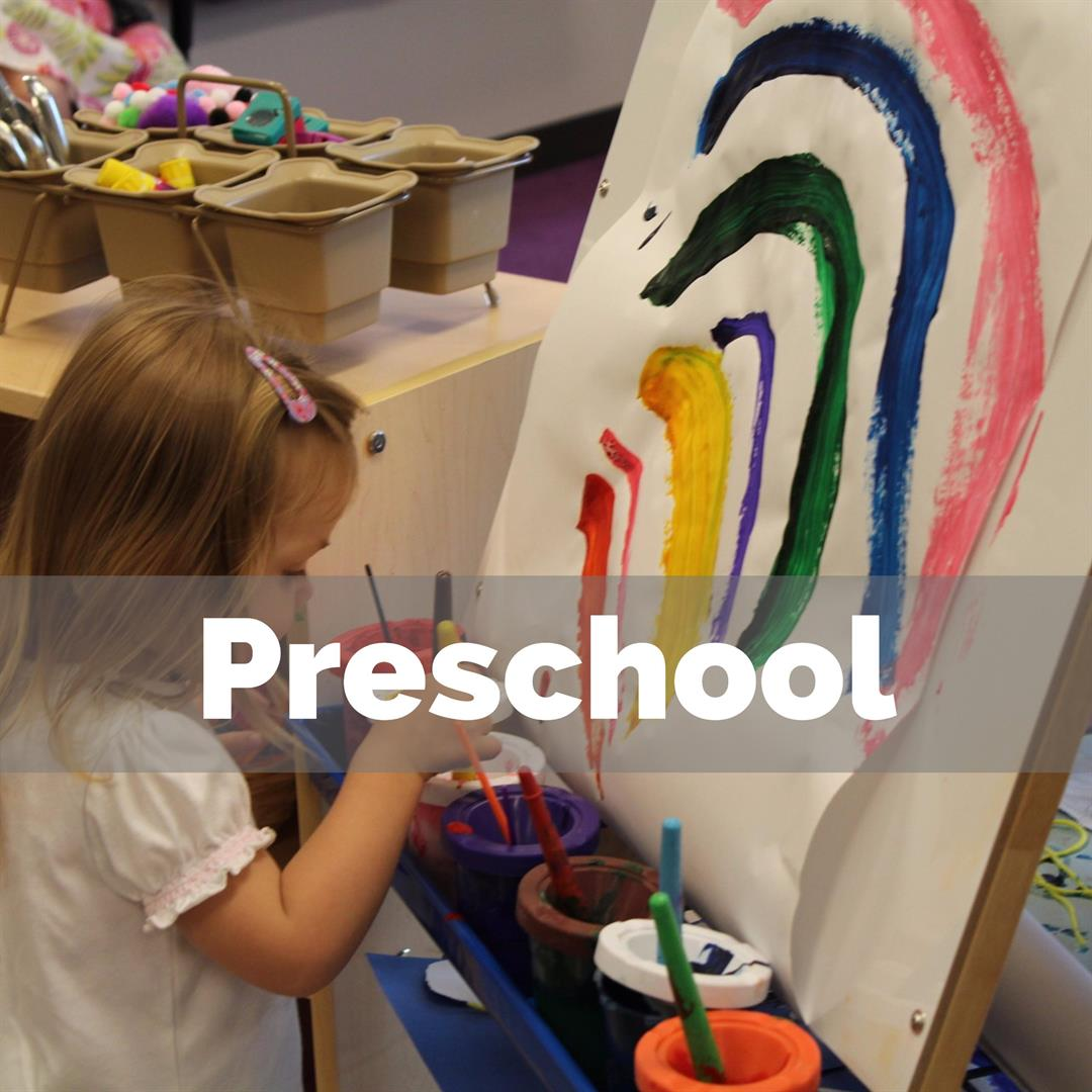 Preschool Enrollment Button