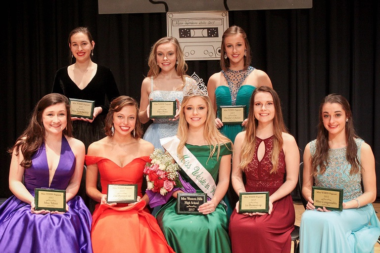 Miss Western Hills Pageant Winners
