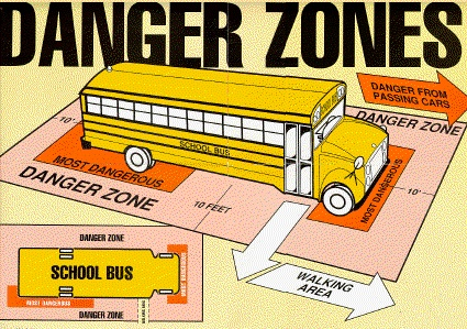 bus danger zone image