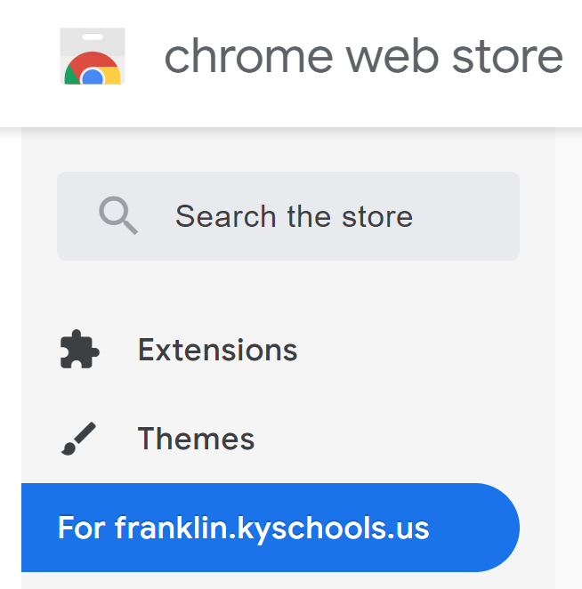 chrome web store fcs