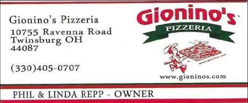 Gioninos Pizza