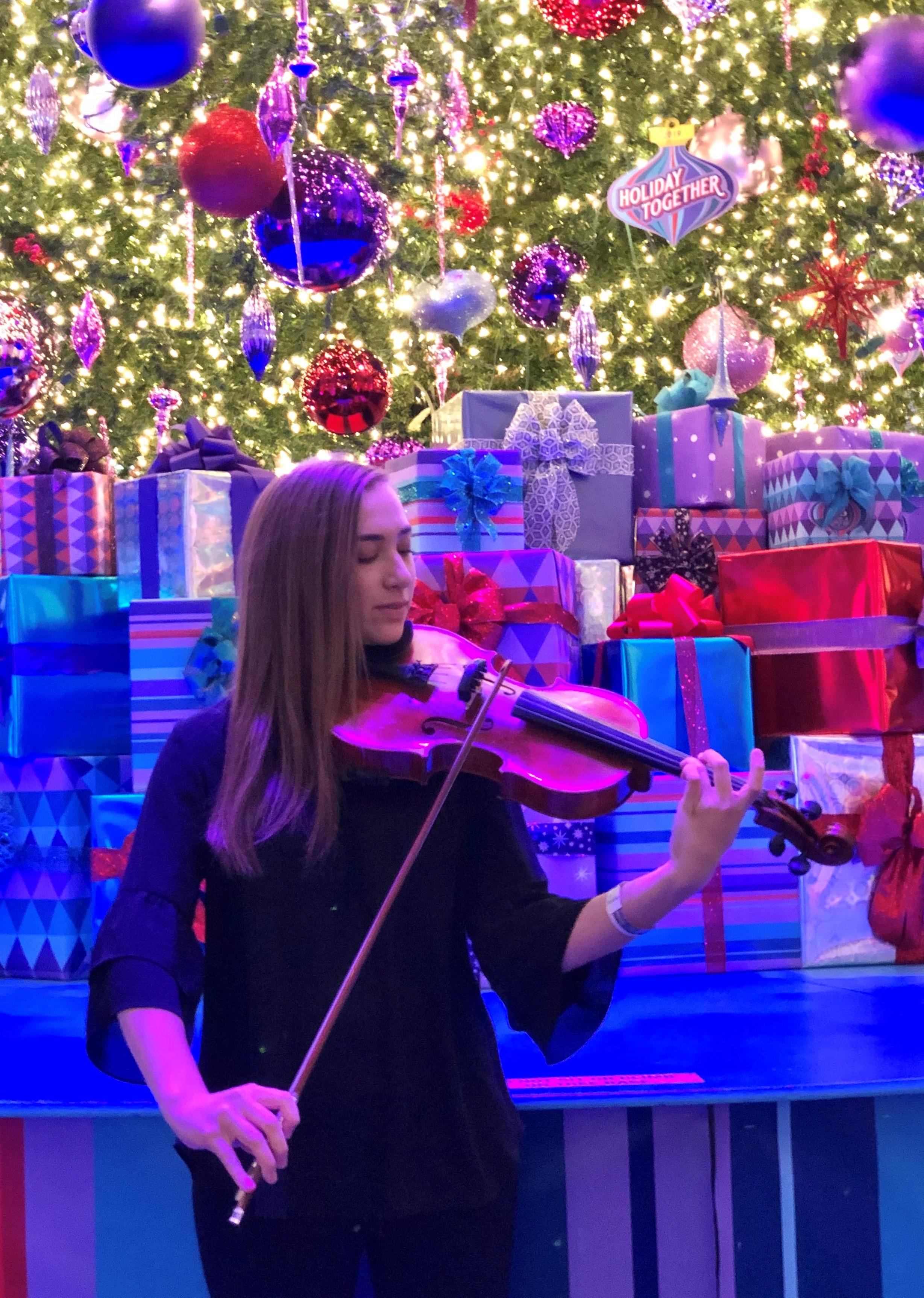 GHS Music Student Plays Viola