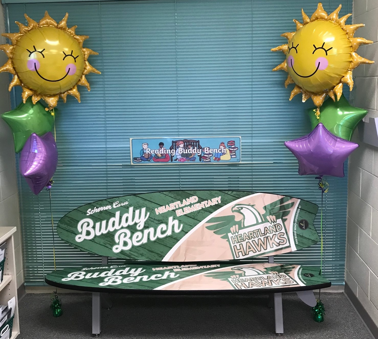HES Buddy Bench