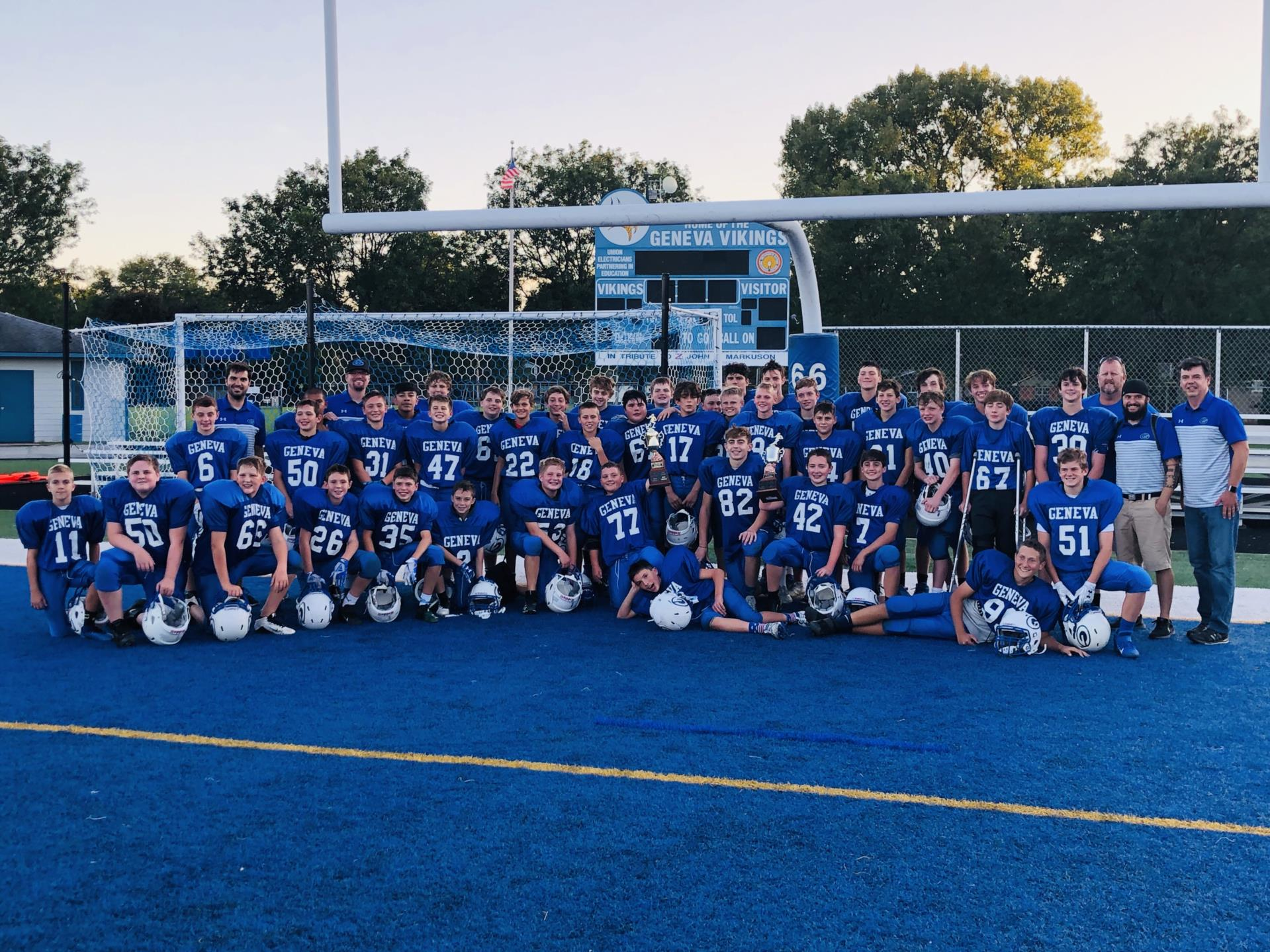 GMS 7th 8th Football Conference Champs