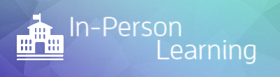 in-person learning icon