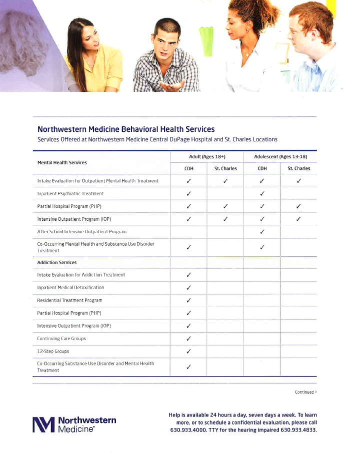 Northwestern Behavioral Health Services