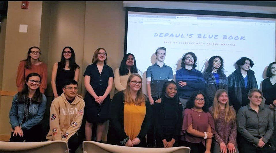 DePaul Blue Book Student Writers 3