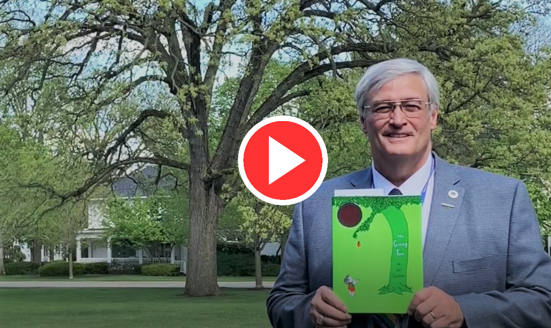 Dr Mutchler Reads The GIving Tree