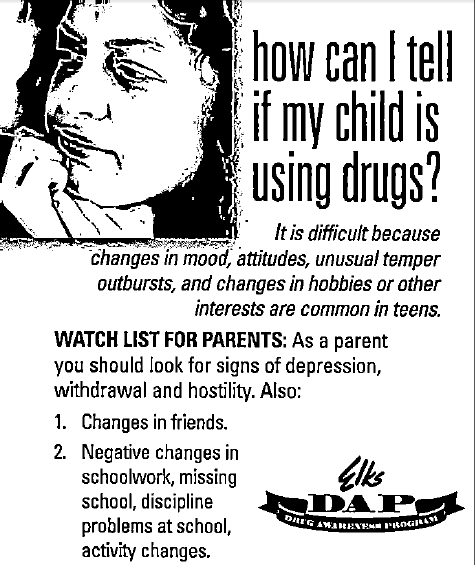 How Can I Tell if my child is using drugs?