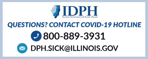 COVID hotline 800-889-3931