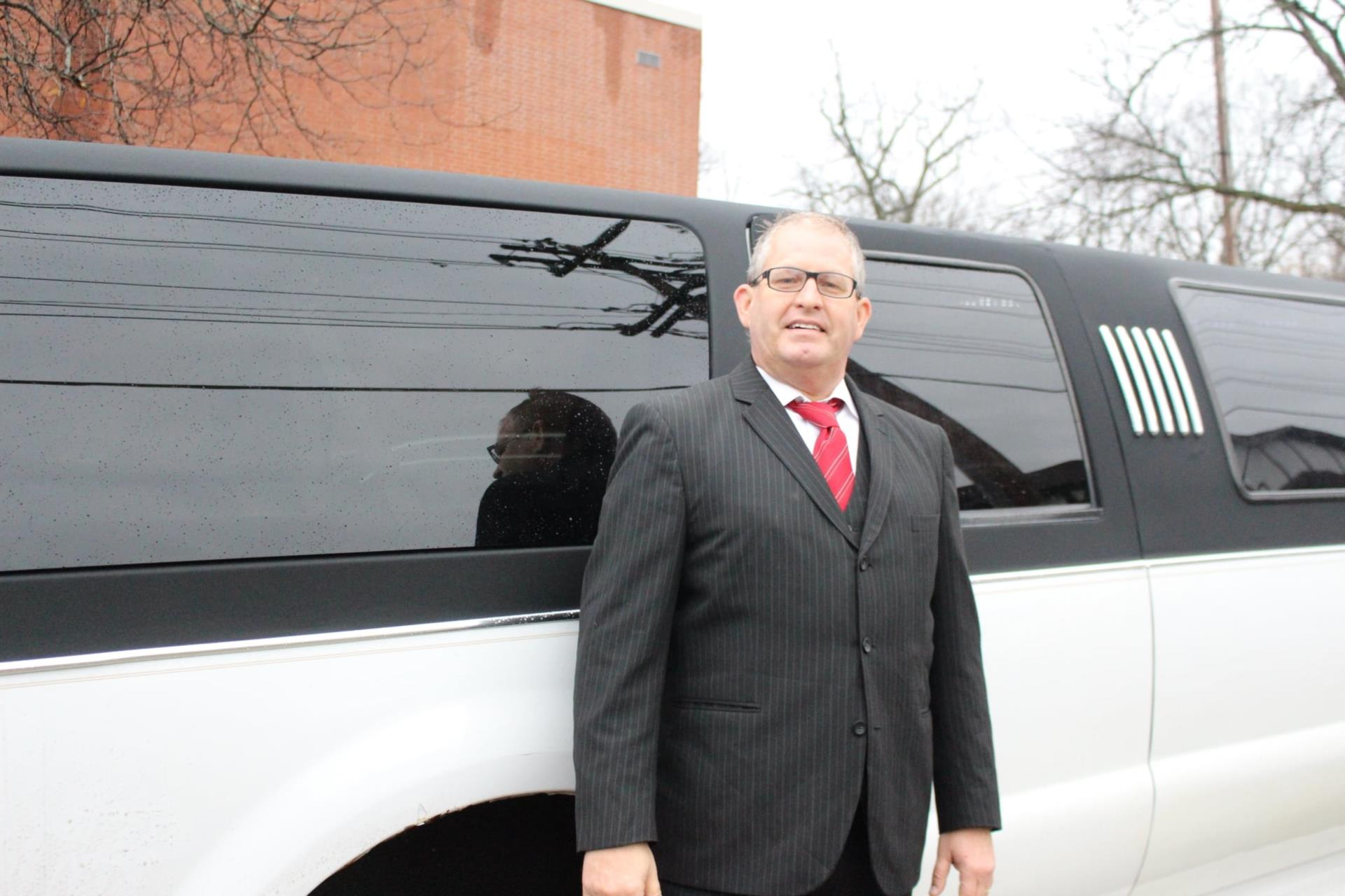 Jeff's Razorback Transit Inc. for providing a very special limo ride for our students to City Hall