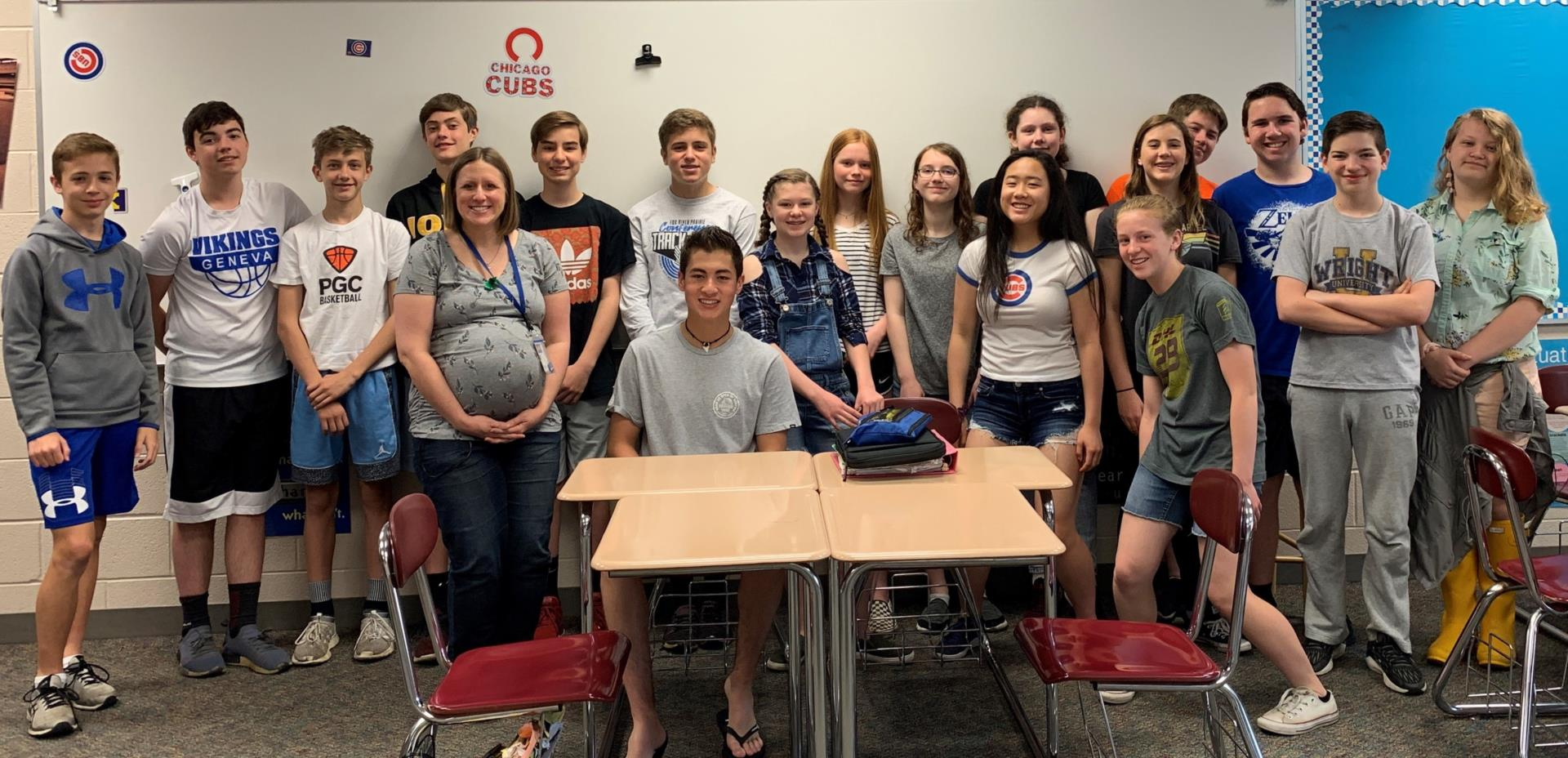 Jessica Bess's 1st hour repping for 8-Blue