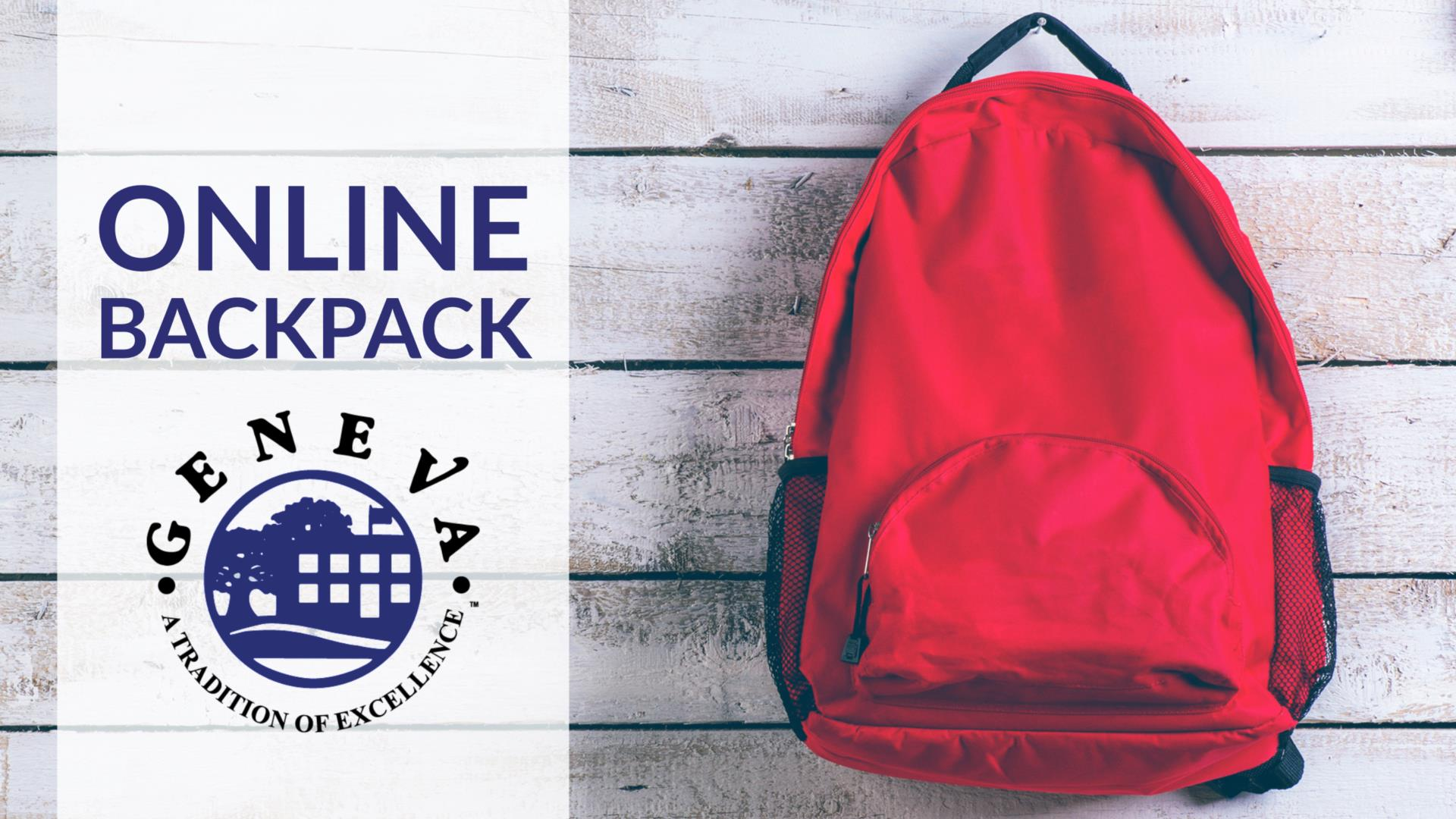 Geneva CUSD 304 Online Backpack