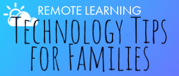 Technology tips for families icon