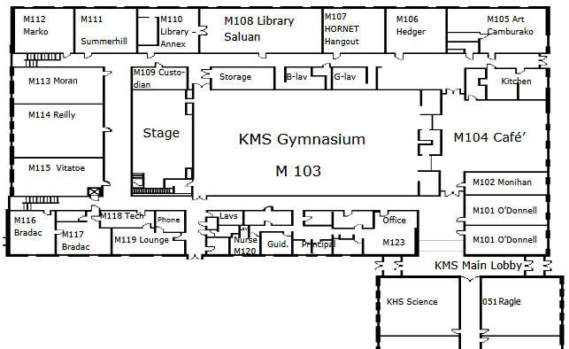 Main Level Map 2
