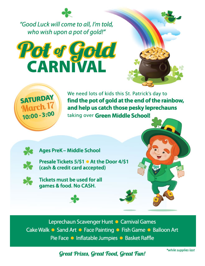 GMS Pot of Gold Carnival