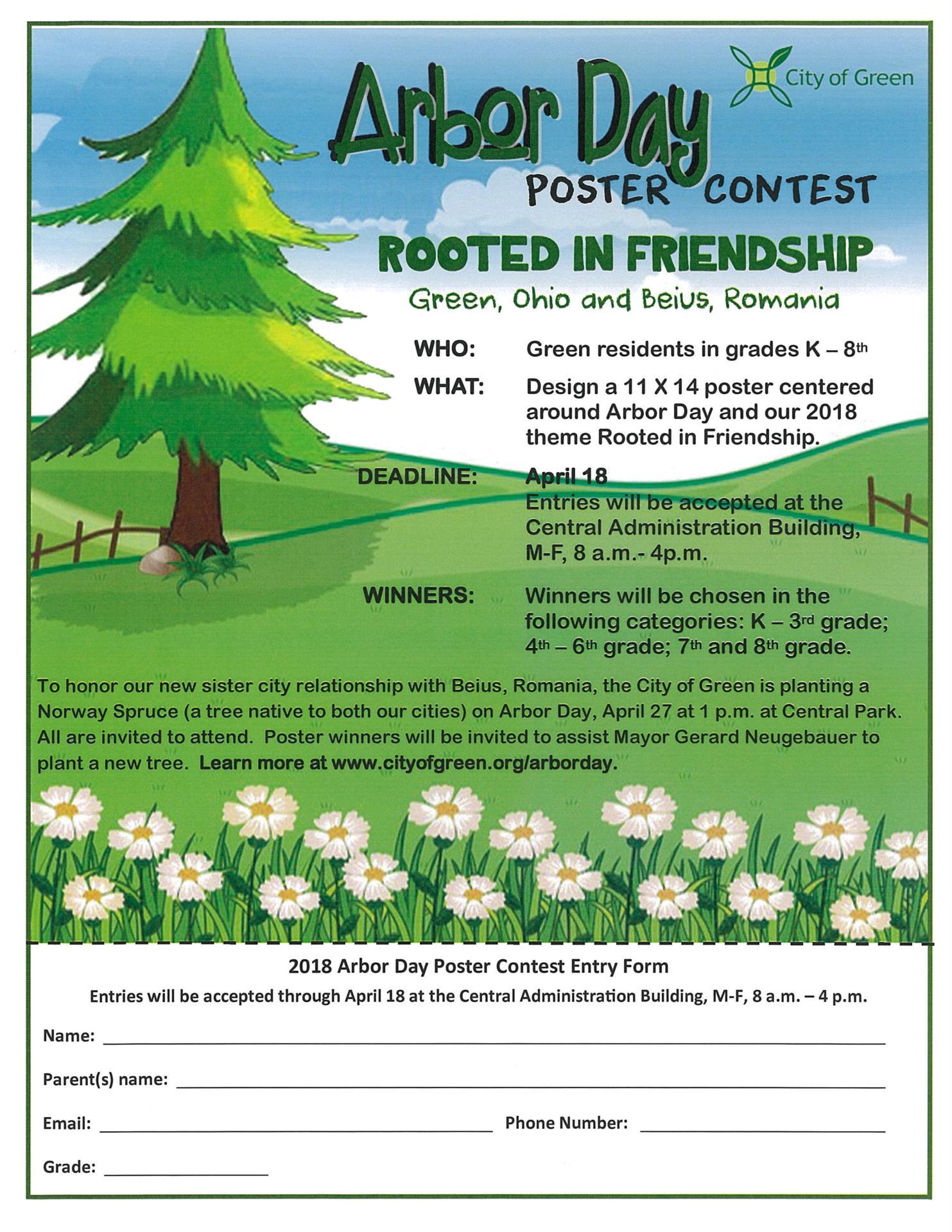 Arbor Day Contest