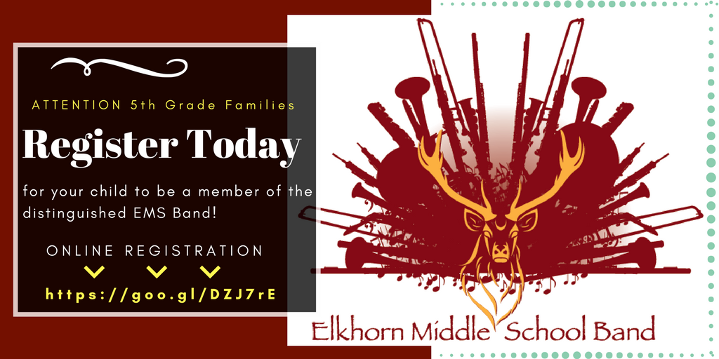 Elkhorm Middle Band Registration