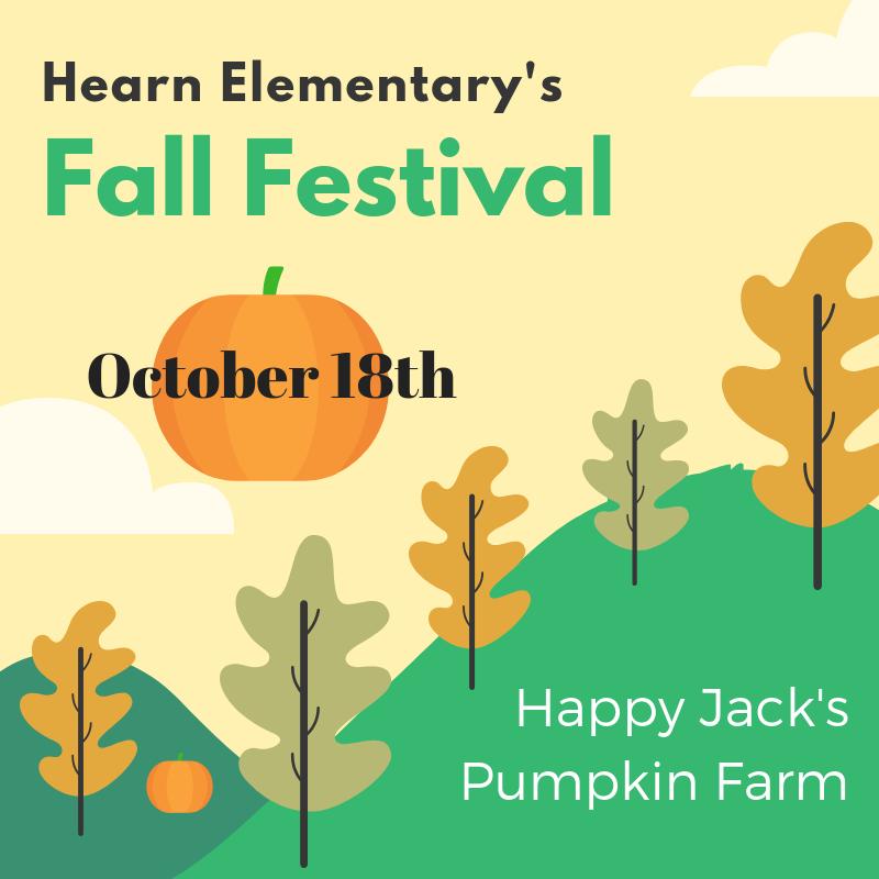 Hearn Fall Festival October 18th