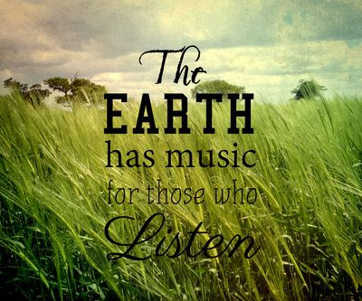 Earth quote