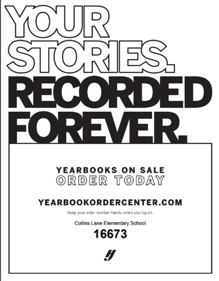 Yearbook Sale Flier