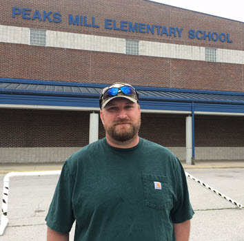 Josh Penn, custodian at PME - Fred Award Finalist